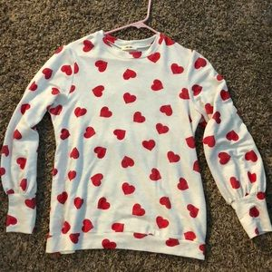 Tops - Heart print top